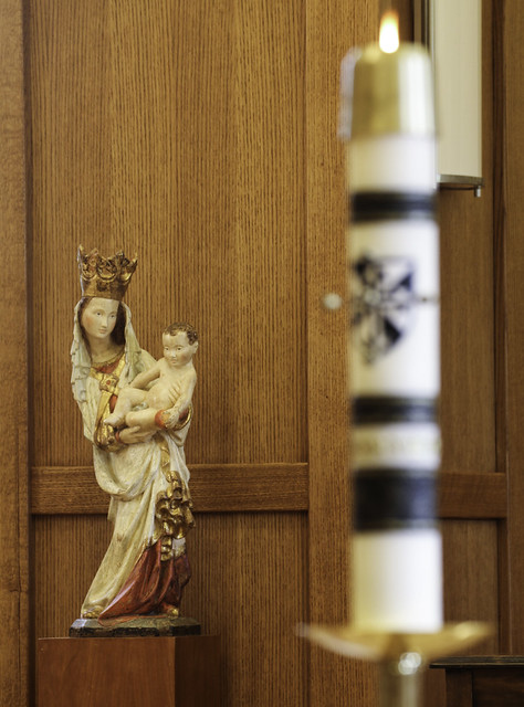 Our Lady's Month in Eastertide