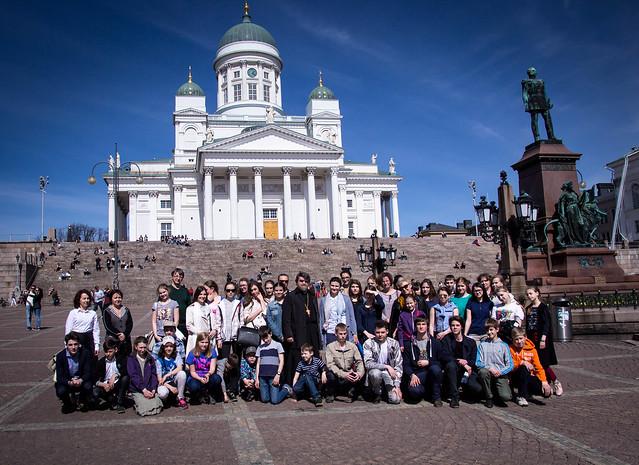 5-8 мая 2016. Поездка Детско-юношеского хора храма Спаса Нерукотворного Образа в Финляндию