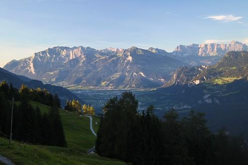 hiking alps alpy góry mountains szwajcaria schweiz switzerland churwalden graubünden grisons gryzonia