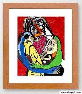 """Zabu Stewart - """"Bird, Woman and Child"""""""