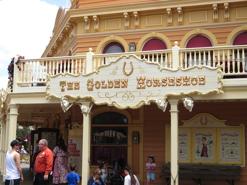 The Golden Horseshoe, Frontierland, Disneyland, Anaheim, California | by Ken Lund