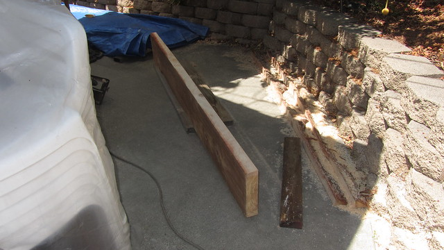 IMG_2041 redwood plank making