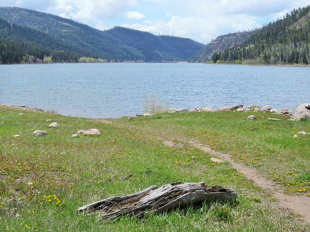 End of the Trail at Lemon Reservoir