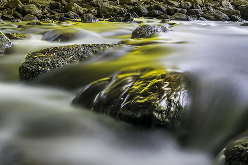 lake blur water sunrise river lens drive early nikon rocks long exposure lakes 7 blurred brook kit rockland d5300