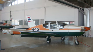 SOCATA TB-20 Trinidad HS-TCX Hua Hin 14Jan10