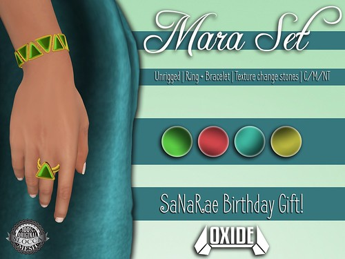 OXIDE Mara Set - Happy 1st Birthday, SaNaRae!