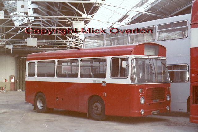 BS4 GHV504N when a demobus at AEC Southall Jan 1982
