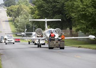 DMPS Aviation Aircraft Take a Stroll