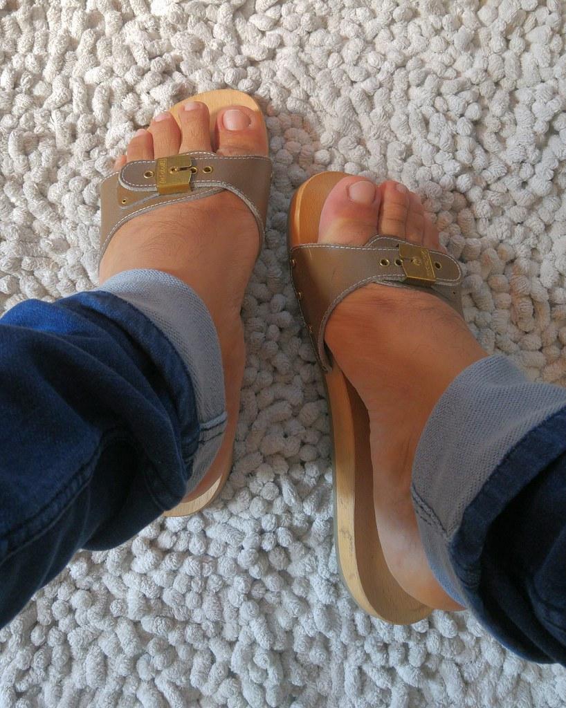 nuovo stile a83c0 cc3c9 Sandals Prada and Dr Scholl Pescura   avgvsto   Flickr