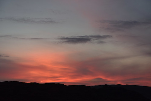 autumn sunset castle fall scotland highland d750
