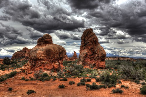 park travel usa storm nature rock clouds america canon landscape photography utah outdoor arches national moab np hdr rik 6d ef1740mmf4lusm tiggelhoven