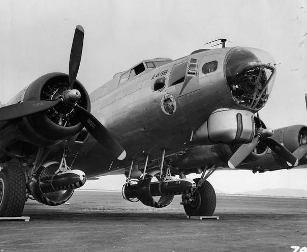 Bomber B-17G-90-BO