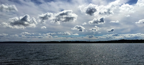 summer lake ontario canada water clouds barrie simcoe partycloudy iphone6