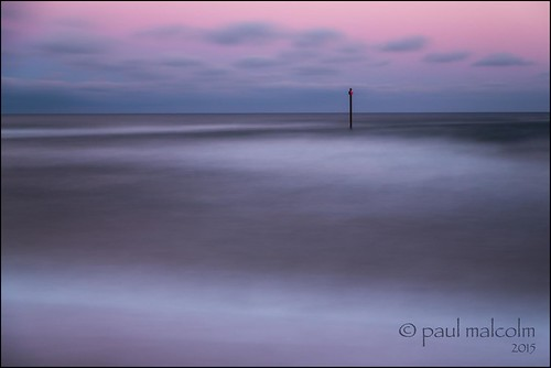 longexposure sunset usa beach water coast northcarolina minimalism wrightsvillebeach coastalnorthcarolina