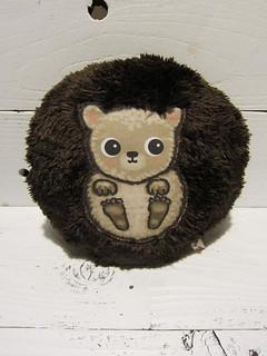 Brown Hedgehog Plush