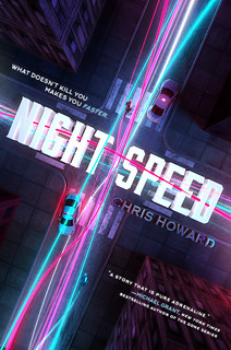 NIGHT SPEED cover art | by chrishowardbooks