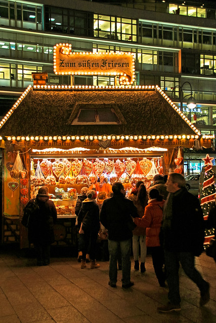 Weihnachtsmarkt auf dem Breitscheidplatz