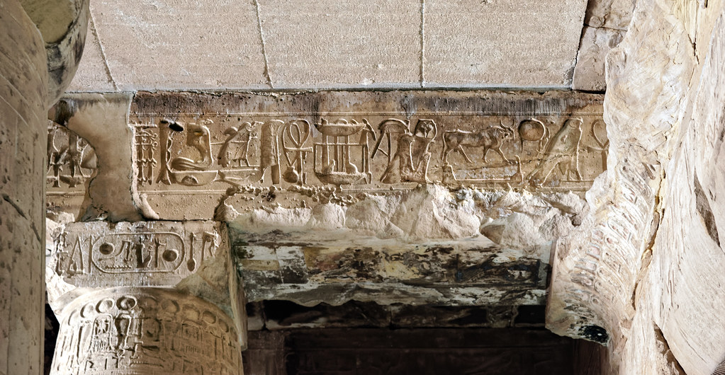 """Abydos, Temple of Sety I: The famous """"Abydos helicopter"""" Part two"""