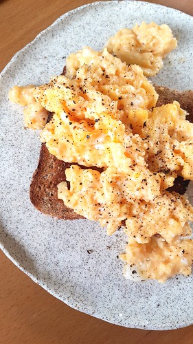 Eggs on toast. Simple. Breakfast. | by michtsang