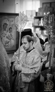 Литургия в храме Дмитрия Солунского 110