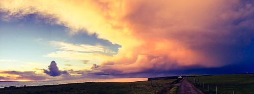 iphone iphone6 appleiphone6 panorama southwales glamorganheritagecoast nashpoint storm sunset
