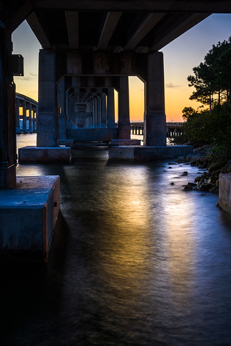 longexposure bridge shadow sky usa reflection water weather river landscape dawn lowlight cityscape florida clear manmade cocoa centralflorida buildingandarchitecture ©edrosack