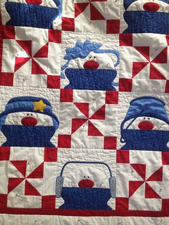 Hubby's Snowman Quilt | by AnimatedLibrarian