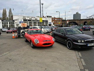 Jaguar Day @ Ace Cafe London