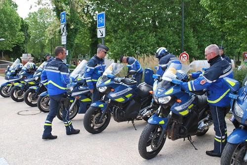 Motos Gendarmerie Nationale