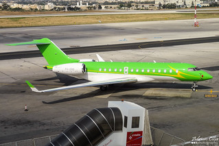 Private --- Bombardier BD-700 Global Express --- P4-GMS