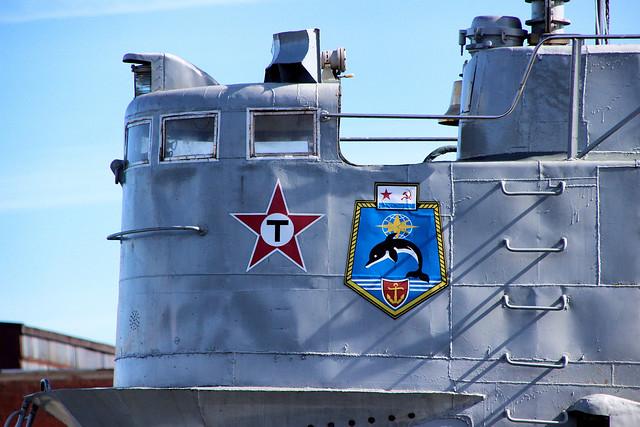 Сonning tower of submarine S-189. Рубка подлодки С-189
