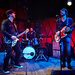Mon, 23/05/2016 - 12:12pm - The Record Company (Chris Vos, Alex Stiff and Marc Cazorla) perform for WFUV Public Radio at Rockwood Music Hall in New York City, 5/18/16. Hosted by Dennis Elsas. Photo by Gus Philippas