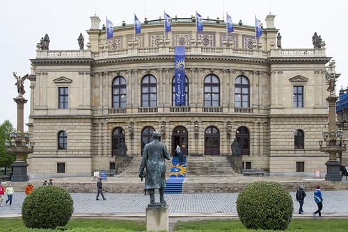 Collegium 1704 v Rudolfinu / Collegium 1704 in Rudolfinum // 28.4.2015 / Sandrine Piau //