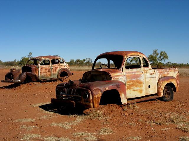 Old Rusty Vehicles - Ti Tree