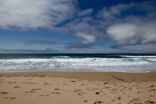 Nondescript CA beach