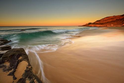 ocean seascape rocks waves australia motionblur newsouthwales aus watermovement newcastleeast nikon1635mmf4 nikond750