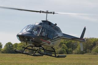 Bell 206 Jet Ranger (G-BYBI) at Redhill Aerodrome