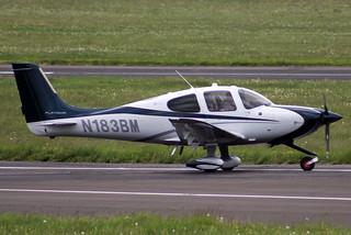 Cirrus SR22 N183BM
