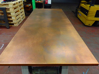78 - Bronzed Copper Top 2 | by Metal Sheets Limited