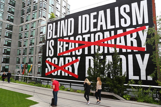 High Line New York Street art