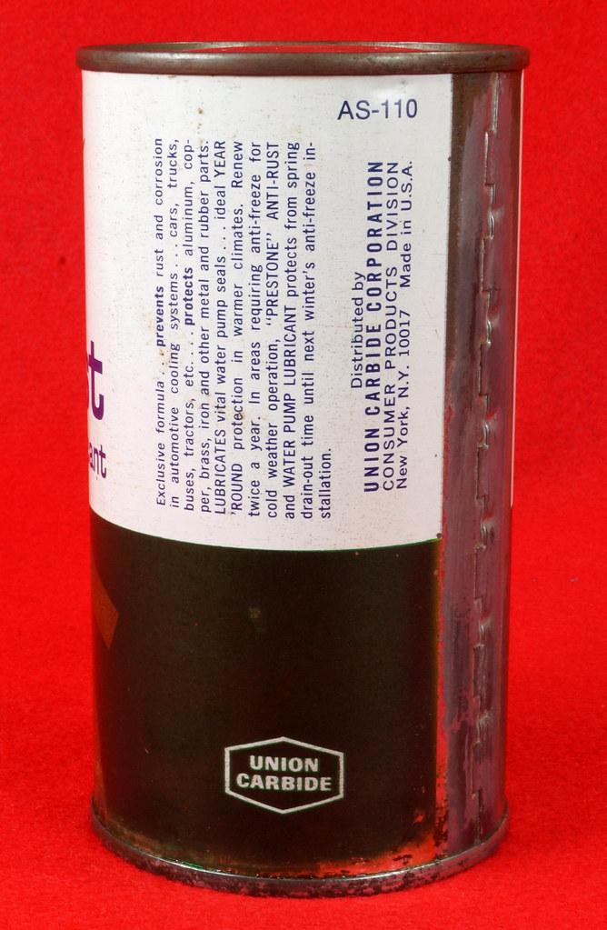 RD12994 Vintage Prestone Radiator Anti-Rust & Water Pump Lubricant 12oz. can FULL DSC02868