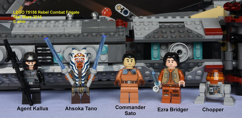 Lego Star Wars Rebels Commander Sato from set 75158