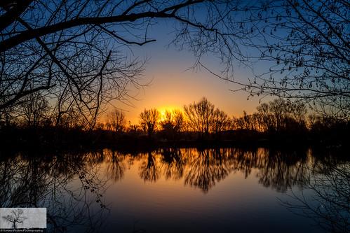sky reflection water silhouette sunrise bedford bedfordshire felton countrypark priorycountrypark robertfelton fingerslake