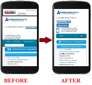Mobile View Optimization strategy - by Myassignmenthelp Mobile View Optimization strategy - by Myassignmenthelp