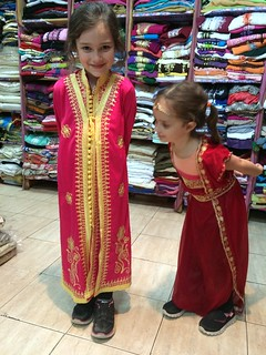 The Girls Trying on Moroccan Dresses | by SheepGuardingLlama