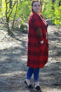 Buffalo Check Opal Cardigan | by Niekemieke