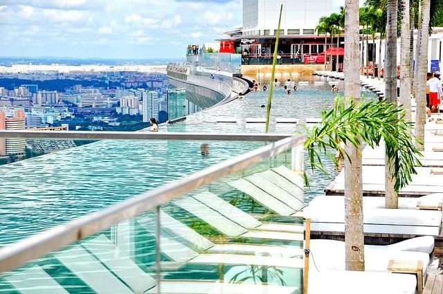 Marina Bay Sands, Skypark, Infinity Pool, Singapore