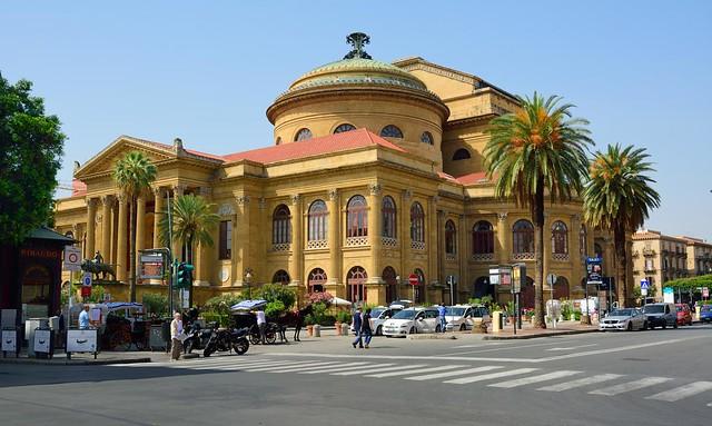Palermo : Teatro Massimo Vittorio Emanuele