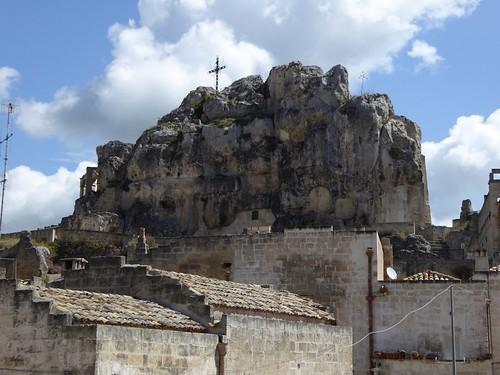 De kerk in een rots ...