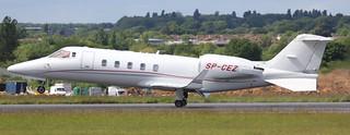 Learjet 60XR cn 60-342 SP-CEZ